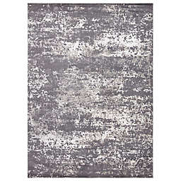 Concord Global Trading Jefferson Abstract 5'3 x 7'3 Area Rug in Grey