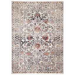 Concord Global Trading Cassandra Traditional 5'3 x 7'3 Area Rug in Ivory