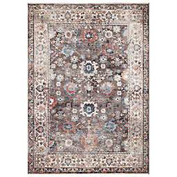 Concord Global Trading Cassandra Traditional 5'3 x 7'3 Area Rug in Brown