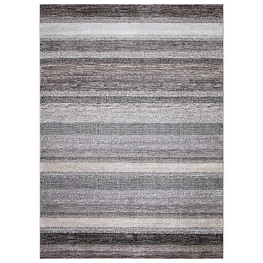 Alternate image 1 for Concord Global Florencia Stripe Rug in Grey