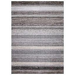Concord Global Florencia Stripe Rug in Grey