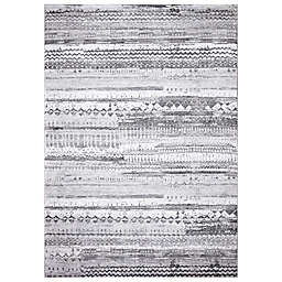 Concord Global Trading Pienza Distressed Rug in Grey