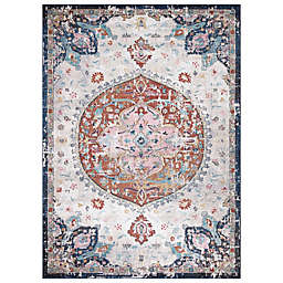 Concord Global Trading Florence Medallion Rug in Ivory