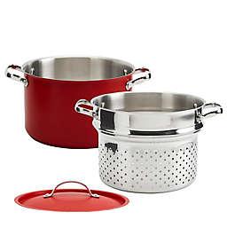 Denmark Bristol Stainless Steel 3-Piece Pasta Pot Set