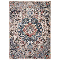 Concord Global Trading Capella 3'3 x 4'7 Medallion Accent Rug
