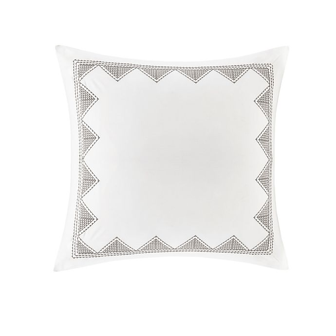 Alternate image 1 for INK+IVY Isla Embroidered European Pillow Sham