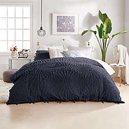 Peri Home Chenille Medallion 3-Piece Full/Queen Comforter Set in Indigo