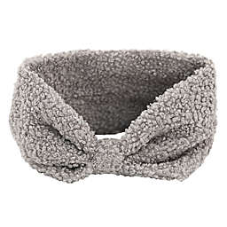 Sherpa Knot Headband in Grey