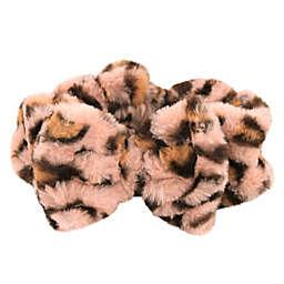 Leopard Print Faux Fur Headband