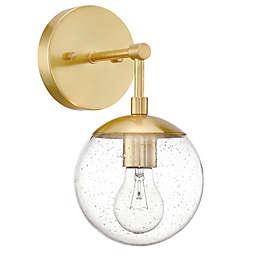 Design House Gracelyn 1-Light Wall Light in Satin Gold