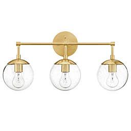 Design Home Gracelyn 3-Light Vanity in Satin Gold