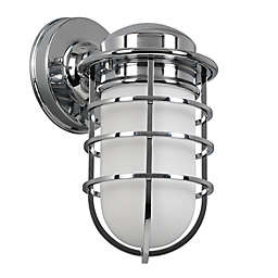 Design House® Seaton Wall Light in Polished Chrome