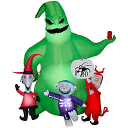 Gemmy Oogie Boogie with Creatures 7-Foot Airblown® Inflatable Halloween Lawn Decoration