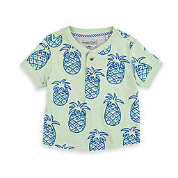 Sovereign Code® Size 18M Pineapple Crewneck T-Shirt in Sage