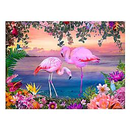 Wuundentoy USA Flamingos at Sunrise 500-Piece Jigsaw Puzzle