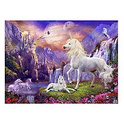 Wuundentoy USA Unicorns at Dusk 500-Piece Jigsaw Puzzle