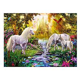 Wuundentoy USA Unicorns in the River 500-Piece Jigsaw Puzzle