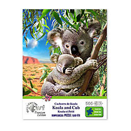 Wuundentoy USA Koala and Cub 500-Piece Jigsaw Puzzle