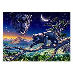 Wuundentoy USA Twilight Panther 500-Piece Jigsaw Puzzle