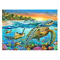 Wuundentoy USA Underwater Turtles 500-Piece Jigsaw Puzzle