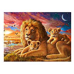 Wuundentoy USA Lion Sunrise500-Piece Jigsaw Puzzle