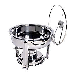 Our Table™ 4-Quart Stainless Steel Round Chafing Dish