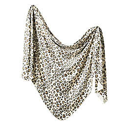 Copper Pearl™ Zara Knit Swaddle Blanket in Brown