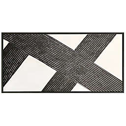 Studio 3B™ Interaction 60-Inch x 30-Inch Framed Embellished Wall Canvas