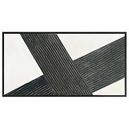 Studio 3B™ Diagonal 60-Inch x 30-Inch Framed Embellished Wall Canvas