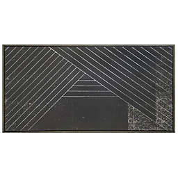 Studio 3B™ Dimension 60-Inch x 30-Inch Framed Embellished Wall Canvas in Black/Multi