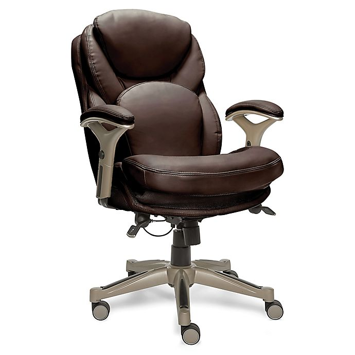 Alternate image 1 for Serta® Works Executive Office Chair with Back in Motion™ Technology