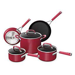 Ninja™ Foodi™ NeverStick™ Vivid Nonstick Aluminum 8-Piece Cookware Set in Red