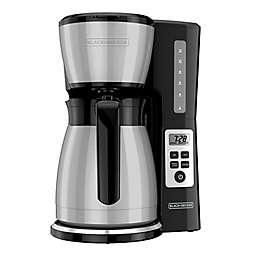 Black & Decker™ 12-Cup Thermal Prgrammable Coffee Maker in Stainless Steel
