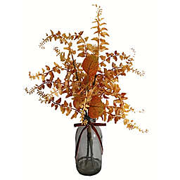 Bee & Willow™ 20-Inch Orangle Leaves with Glass Jar