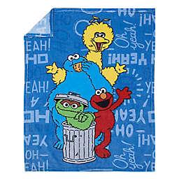Sesame Street® Toddler Blanket in Blue