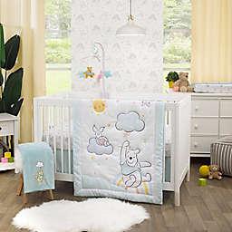 Disney® Winnie The PoohHello Sunshine 3-Piece Crib Bedding Set in Aqua
