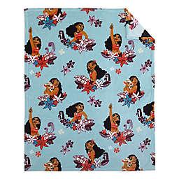 Disney® Moana Feel the Waves Toddler Blanket in Aqua