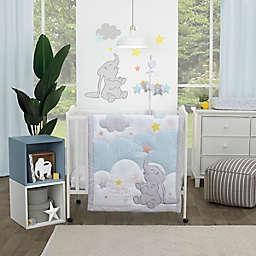 Disney® Dumbo Shine Bright Little Star 3-Piece Crib Bedding Set in Grey