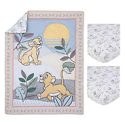 Disney® Leader of the Pack 3-Piece Mini Crib Bedding Set in Taupe