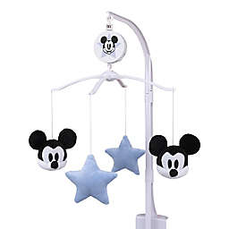 Disney® Timeless Mickey Mouse Musical Mobile in Light Blue