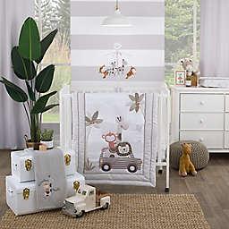 Little Love by NoJo® 3-Piece Mini Crib Bedding Set in Grey