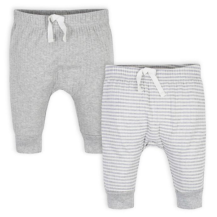 Alternate image 1 for Gerber® 2-Pack Jungle Pants in Grey