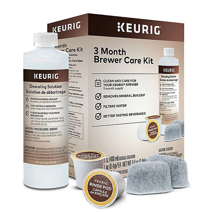 Alternate image 1 for Keurig® 3 Month Brewer Care Kit