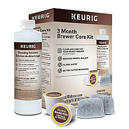 Keurig® 3 Month Brewer Care Kit