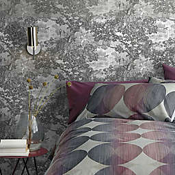 RoomMates® Jungle Toile Peel and Stick Wallpaper in Black/White
