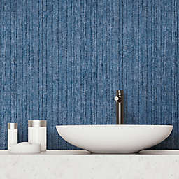 RoomMates® Crackled Stria Texture Peel and Stick Wallpaper