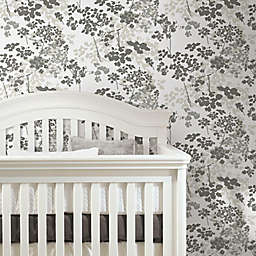 RoomMates® Queen Anne's Lace Peel & Stick Wallpaper in Brown/White