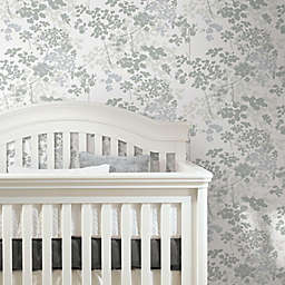 RoomMates® Queen Anne's Lace Peel & Stick Wallpaper in Grey/White
