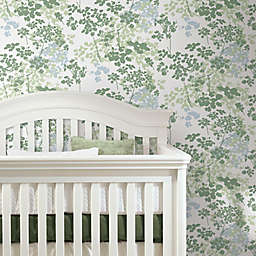 RoomMates® Queen Anne's Lace Peel & Stick Wallpaper in Green/White