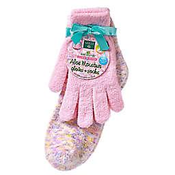Earth Therapeutics® Aloe Moisture™ Glove & Socks Set in Pink Confetti